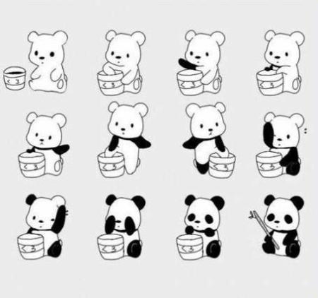 como se fabrica un panda